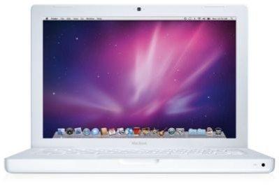 Apple MacBook 13 Intel Core Duo 1.83GHz, 2GB, 120 Gb Hard Drive, Wi-fi, Camera, Mac Os 10.6 Snow Leopard and Ilife