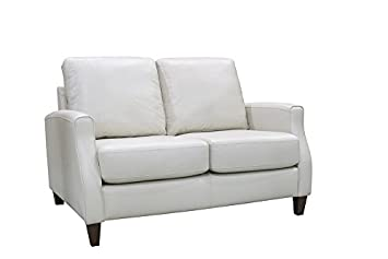 Coja by Sofa4life Springfield Loveseat - 37-Inch - White