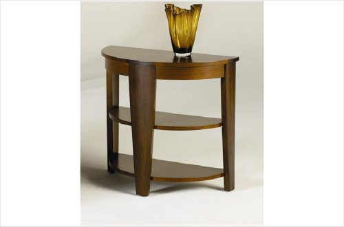 Cheap Hammary Oasis Demilune End Table (T2003419-00)