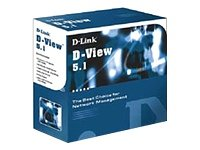 D-Link DS-510P SNMP Network MGMT System D-View 5.1, Professional