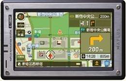 マップラス ポータブルナビゲーションシステム E-100MP