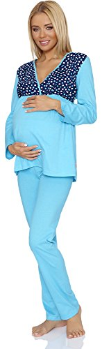 Be-Mammy-Vtements-Maternit-Ensemble-de-Pyjama-Susan