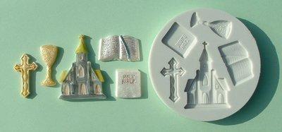 Alphabet Moulds Stampi in silicone per glassa e decorazioni su torte e cupcake, per comunione