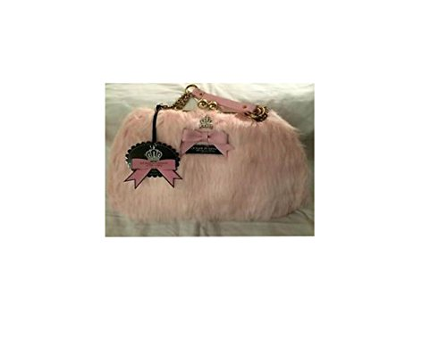 My Flat In London Faux Fur Kelly Pink Large Handbag NEW