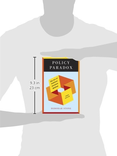 deborah stone policy paradox In 1989, giandomenico majone published 'evidence, argument, and persuasion in policy analysis' that together with deborah stone's policy paradox (1988) and john s dryzek's discursive democracy (1990) became key texts in the formative process of the new argumentative perspective on policy analysis.