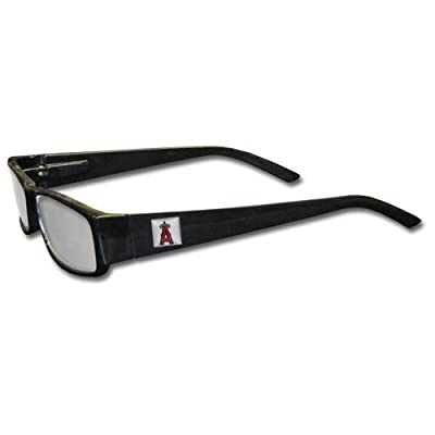 MLB Black Reading Glasses, +2.50, Los Angeles Angels