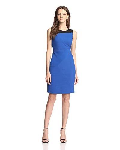 Adrianna Papell Women's Sleeveless Colorblock Sheath Dress