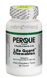 Life Guard Cherry/Rasp 90 Chewable by Perque