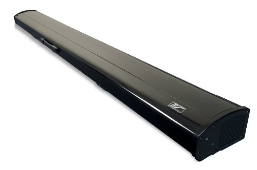 Elite screens kestrel series 96 inch portable for Motorized floor up screen