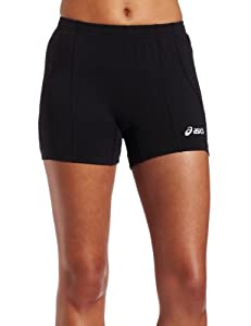 ASICS Women's Baseline Vb Short, Black, Medium