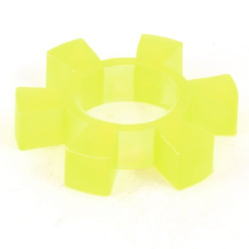 Water & Wood 80Mm X 16Mm Pu Coupling Shaft Center Spider Coupler Damper Yellow