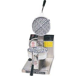 34 Waffles/Hr Belgian Waffle Baker - Gold Medal 5042 by Gold Medal