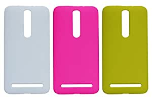 3 Pieces Winsome Deal Exclusive Hard Back Cover Case For Asus Zenfone 2