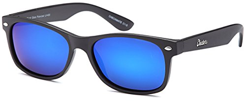 a041df811ed GAMMA RAY CHEATERS Best Value Polarized UV400 Wayfarer Style Sunglasses  with Mirror Lens and Multi P