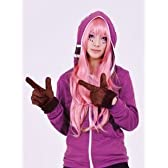 【コスプレ衣装】 初音ミク マトリョシカ パーカー 巡音ルカ VOCALOID 紫色 Mサイズ