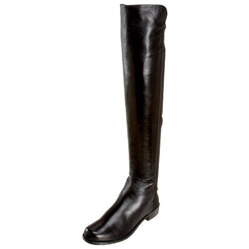 Stuart Weitzman Women's 5050 Boot,Black Nappa,7.5 M US