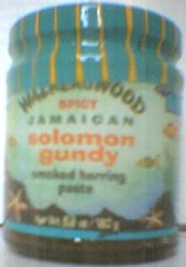 Walkerswood Spicy Jamaican Solomon Gundy Smoked Herring Paste from Walkerswood Caribbean Foods Ltd.