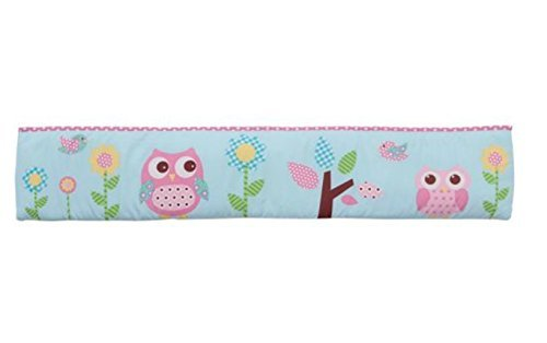 Baby Boom Owls in a Tree Crib Bumper - 1
