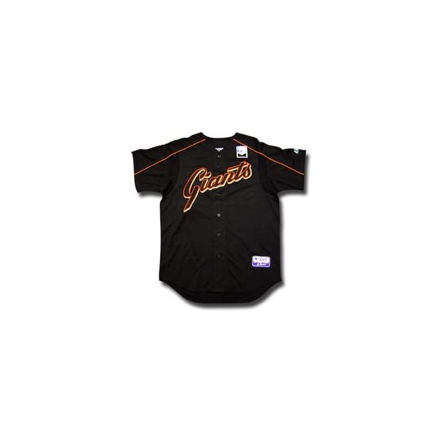 San Francisco Giants Youth Authentic MLB Batting Practice Jersey (Medium)