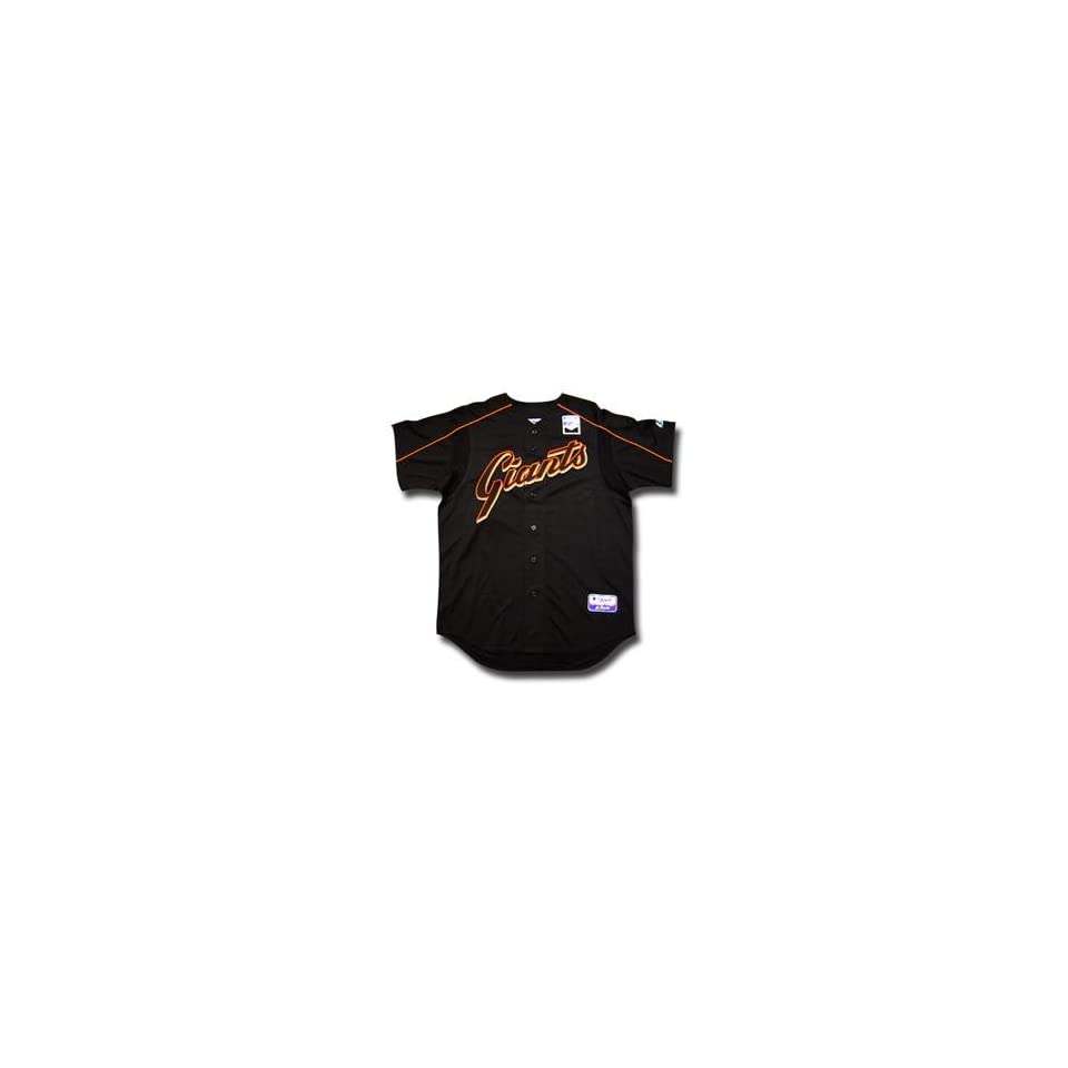 San Francisco Giants Youth Authentic MLB Batting Practice Jersey by Majestic