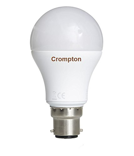 Crompton 18W B22 LED Bulb (Cool Day Light, Pack Of 2)