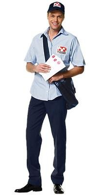Mailman Men's Costume