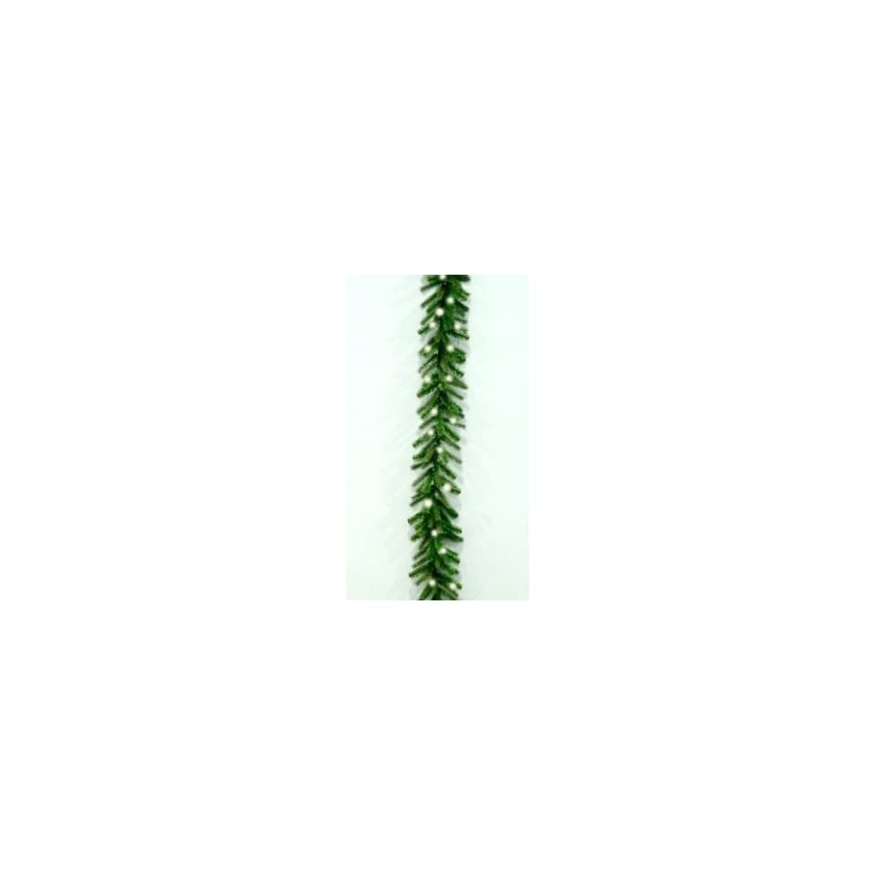 National Tree Company PENF1 300 9A 9 Foot x 10 Inch Poly Norway Garland with 100 Clear Lights