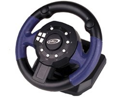 NGC PRO MINI 2 RACING WHEEL - Gamecube (Xbox360 Pedals And Steering Wheel compare prices)