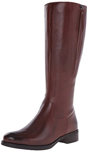Ecco Footwear Womens Adel Tall Zip Boot, Mink, 38 EU/7-7.5 M US (Ecco Women Shoes Boots compare prices)