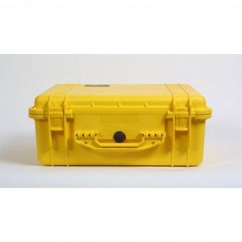 Pelibox with 1550 foam insert (Colour: yellow)