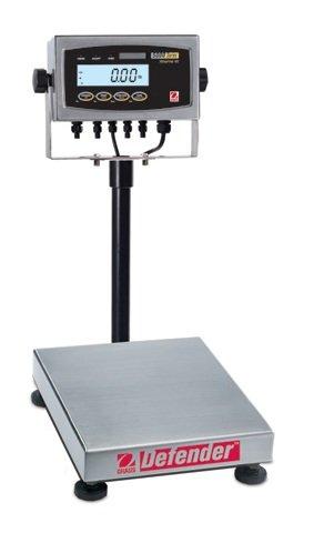 Ohaus D51Xw10Qr1 Defendertm 5000X Extreme Square Scales Ntep, 25 Lb X 0.002 Lb