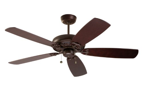Emerson Ceiling Fans CF4501VNB Crown Select Indoor Ceiling Fan, Blades Sold Separately, Light Kit Adaptable, Venetian Bronze Finish (Hunter 50 Inch Ceiling Fan compare prices)
