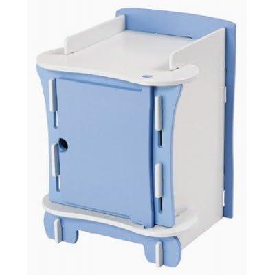 Kinder Childrens Bedside Cabinet (Blue)