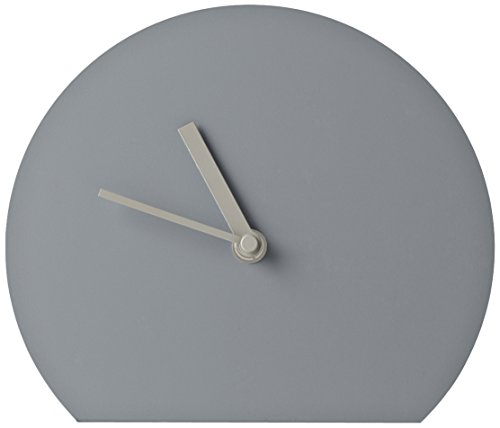 Menu Tischuhr Steel Clock dark grey