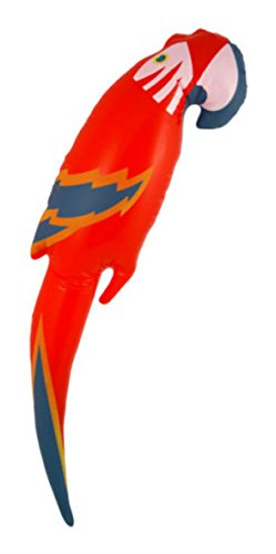 New ! Inflatable Blowup Parrot / Sword Hawaiian Beach Party Pirate Fancy Dress Costume , Party (Fancy Dress Swords)