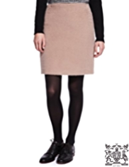 Best of British Mini Skirt with Wool