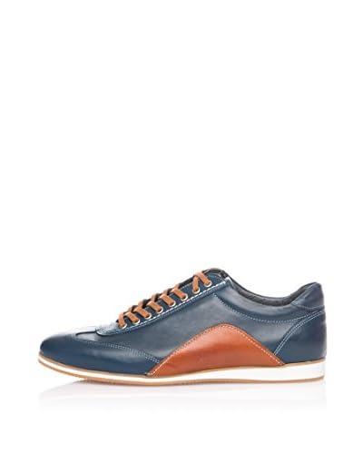 Wolfland Zapatillas Combinadas Azul Marino / Cuero