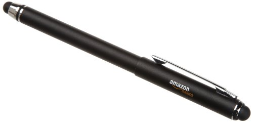 AmazonBasics Capacitive Stylus for Kindle Fire, Kindle Paperwhite and other Touchscreen Devices, Black at Electronic-Readers.com