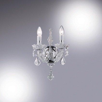 Luminaire applique Ideal Lux FLORIAN AP2 CROMO