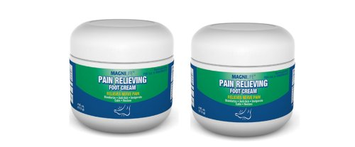 Pain Relieving Foot Cream Homeopathic Two Pack - 4 Fl Oz Each