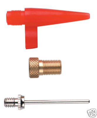 Weldtite Pump Adaptor Kit for Football and Airbed