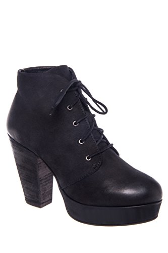 Raspy Lace-Up Bootie