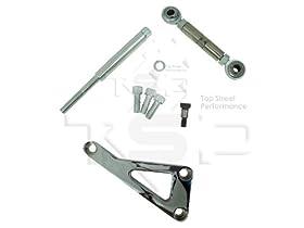 Top Street Performance JM9101P Polished Aluminum Alternator Bracket Kit