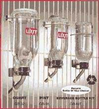 LIXIT Btl Glass Lrg Tube 16oz