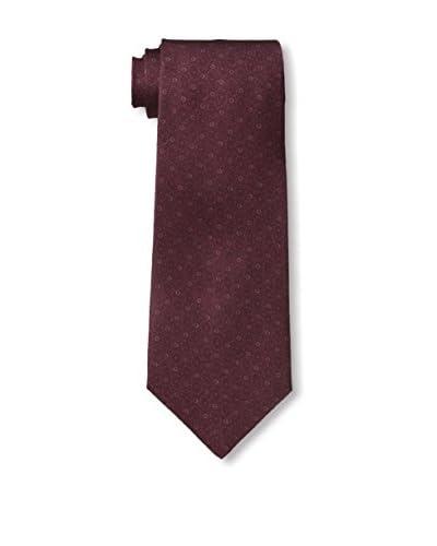 John Varvatos Dotted Tie, Burgundy