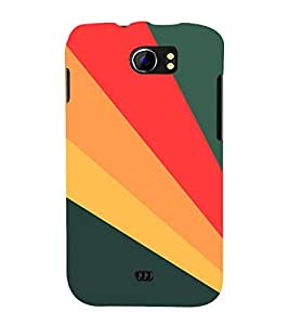 PrintVisa Modern Digital Art Pattern 3D Hard Polycarbonate Designer Back Case Cover for Micromax Canvas 2 A110 A110Q