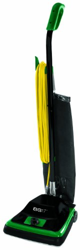 """Bissell Biggreen Commercial Bg100 Protough Upright Vacuum With Straight Handle, 870W, 12"""" Vacuum Width"""