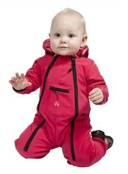 Elka Softshell Overall pink Gr 98