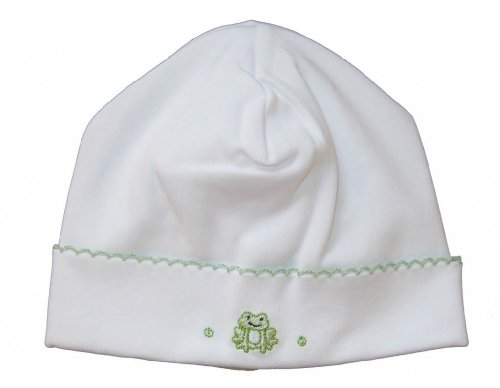 Kissy Kissy Baby Boys Homeward Bound Froggie Embroidered Hat-Small front-962886