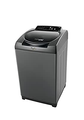 Whirlpool Stainwash Ultra  Fully-automatic Top-loading Washing Machine (6.5 kg, Grey)